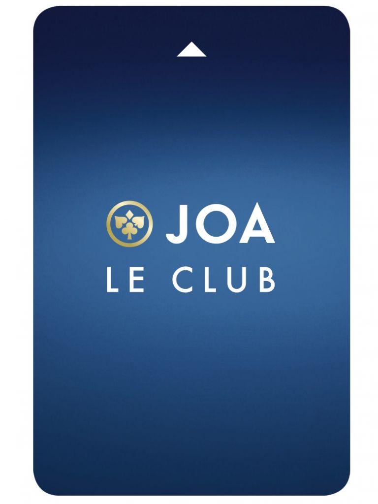 Carte du Club JOA, votre programme de fidélité